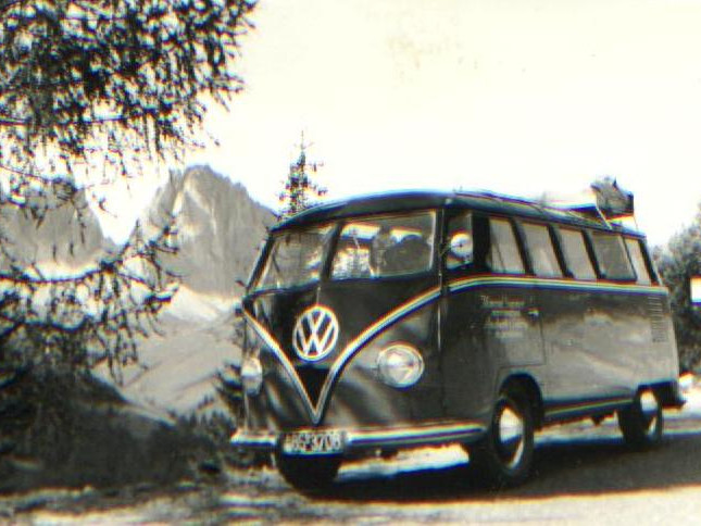 Company history - Old VW bus