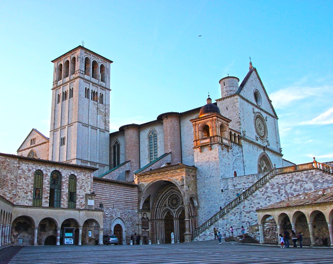 Aktivreisen- Assisi in Umbrien
