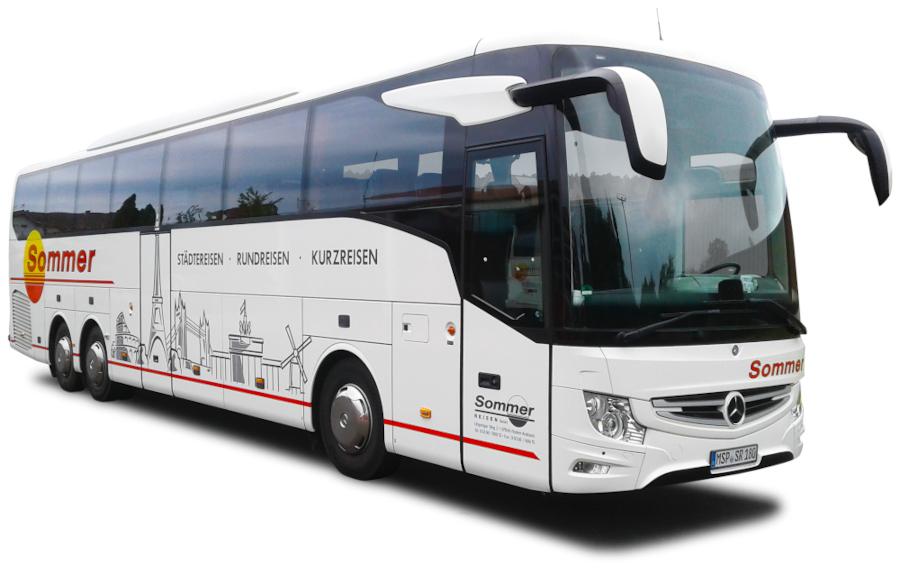 Fuhrpark - Reisebus des Busunternehmens Sommer-Reisen